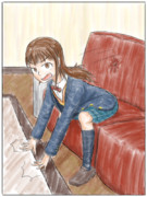 小説7巻目の挿絵1枚目