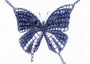 捕われのモルフォ蝶