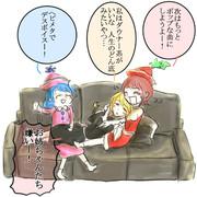 音楽性の違いで仲良く喧嘩するプリズム三姉妹