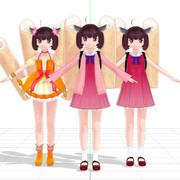 2020/03/11【MMDモデル配布】東北きりたんさん Ver1.00