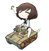 戦車道の音がする