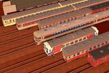 列車はならべてナンボ…