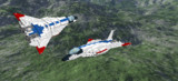 LDD(LEGO)で試作戦闘機2