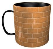 レンガのマグカップ