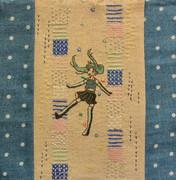 ミクの日(刺繍)