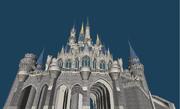 シンデレラ城3Dモデル 9