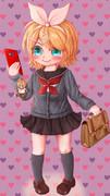 リンちゃんは女子高校生