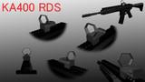 【ドットサイト】KA400 RDS【MMD武器】