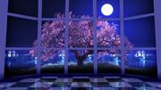 【MMDステージ配布】湾岸桜 ST42【AL対応】