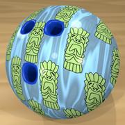 ティキのボウリングボール