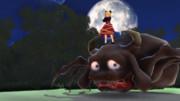 土蜘蛛と牛鬼