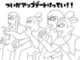 外人4コマ【スプラトゥーン】