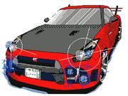 将来作って乗ってみたいNISSAN R35 GT-R