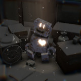【MMDモデル配布】ロボット【王ドロボウJING】