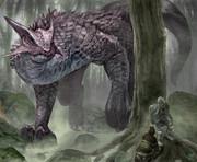 森のドラゴン