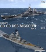 【MMD】BB-63 USSミズーリ Ver2.1