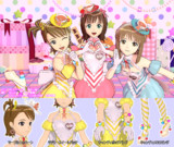 【MMD】アイドルマスターOFA ティータイムハピネス ver.1.1【アイマス】
