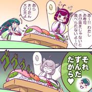 きりたんとお寿司 feat.ずん子