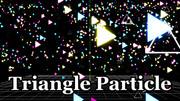三角パーティクル