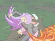 火を噴くHSI姉貴