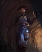 洞窟の奥へ