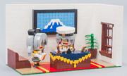 レゴで提督と鹿島~