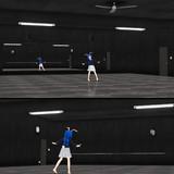 ダンススタジオ_黒【MMDステージ配布】