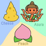 CAP (Cheese, Asura, Peach)