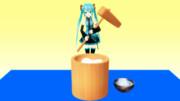 【MMDアクセサリ配布】餅つきセット配布