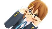 【MMD】平沢唯『頭が良くなった様な気がする!』