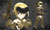 【モデル配布】FA:G 轟雷 Ver1【MMD】