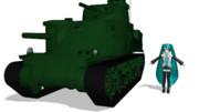 M3中戦車とミクさん