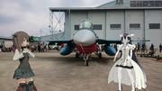(MMD艦これ)F-2Aと大鳳と泊地さん