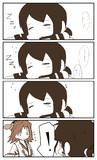 居眠りふぶきちゃんと比叡さん
