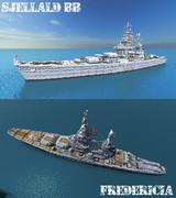 戦艦フレゼリシア