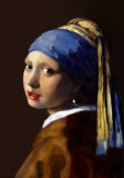 真珠の耳飾りの少女(模写