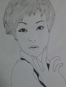 椎名林檎描いてみた