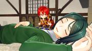 【Fate / MMD 】はやく起きないかなぁ先生
