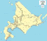 JR北海道路線図最新版