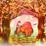 秋の旅路で・・