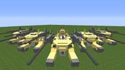 【minecraft】CGSモビルワーカー(2種)を作ってみた【jointblock】