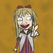 京子先輩を描きました