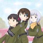 第1121号要塞、時告げ砦の少女隊。