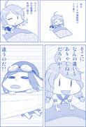 艦これ1P劇場26:   15.2cm連装砲妖精