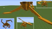 【minecraft】エルコプテを作ってみた【jointblock】