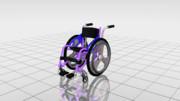 どこから見ても車椅子