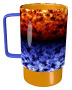 炎と冷気のマグカップ