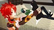 【Fate/MMD】先生なかなか起きないし、僕たちで遊んでよっか?