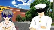 仮面榛名と提督さん 製作決定