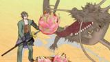 御手杵とドラゴンとフルーツ